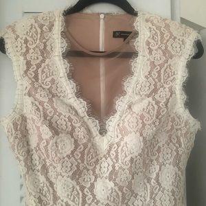 INC Fitted Dress Sz 12